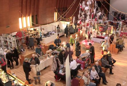 Le salon des métiers d'art de Charlevoix, pour trouver des idées de cadeaux originaux pour Noël