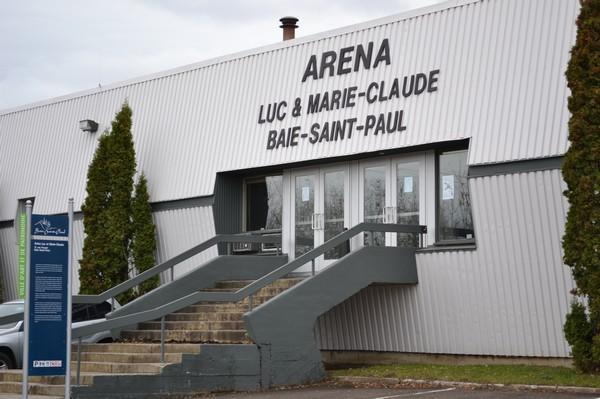 Construction Éclair rénovera l'aréna de Baie-Saint-Paul pour près de 2,5 millions