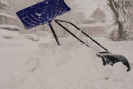 Encore 20 cm de neige… et des risques de pluie verglaçante