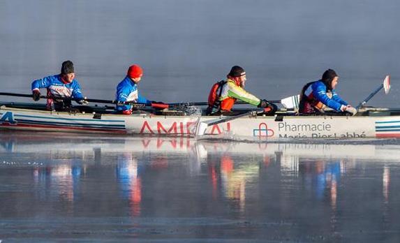 Canot à glace : les canotiers du Pharmacie Marie-Pier Labbé/Amiral sont de retour