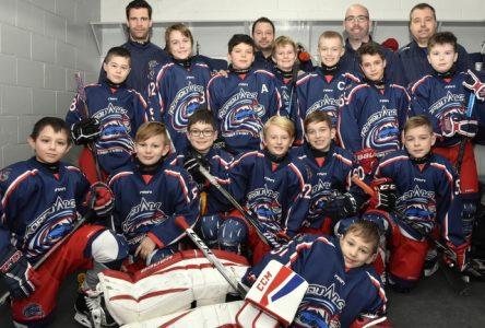 Un bon début d'année pour les équipes du hockey mineur de Charlevoix