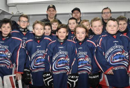 Une courte fin de semaine pour le hockey mineur de Charlevoix
