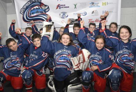 Hockey mineur Charlevoix : quelques défaites, mais beaucoup de victoires