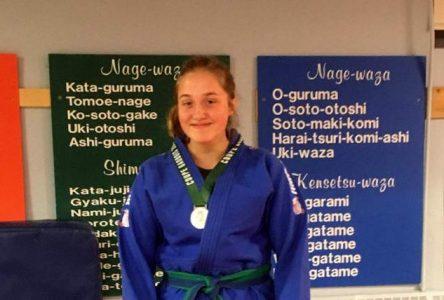 Judo : l'argent pour Angéline Simard