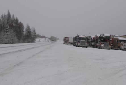 La 138 fermée aux véhicules lourds