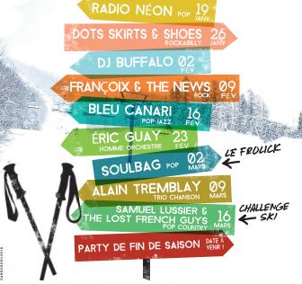 Les après-ski du Mont Grand-Fonds de retour
