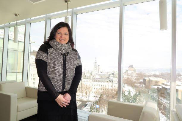 Caroline Simard occupe une nouvelle fonction