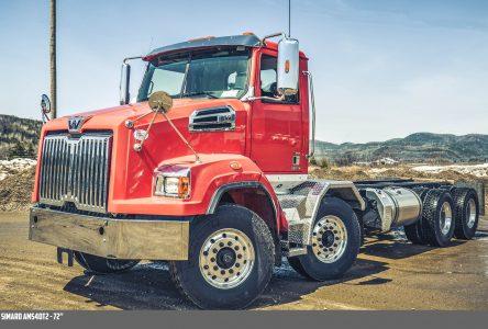 Partenariat exclusif entre Western Star Trucks et Simard Suspensions