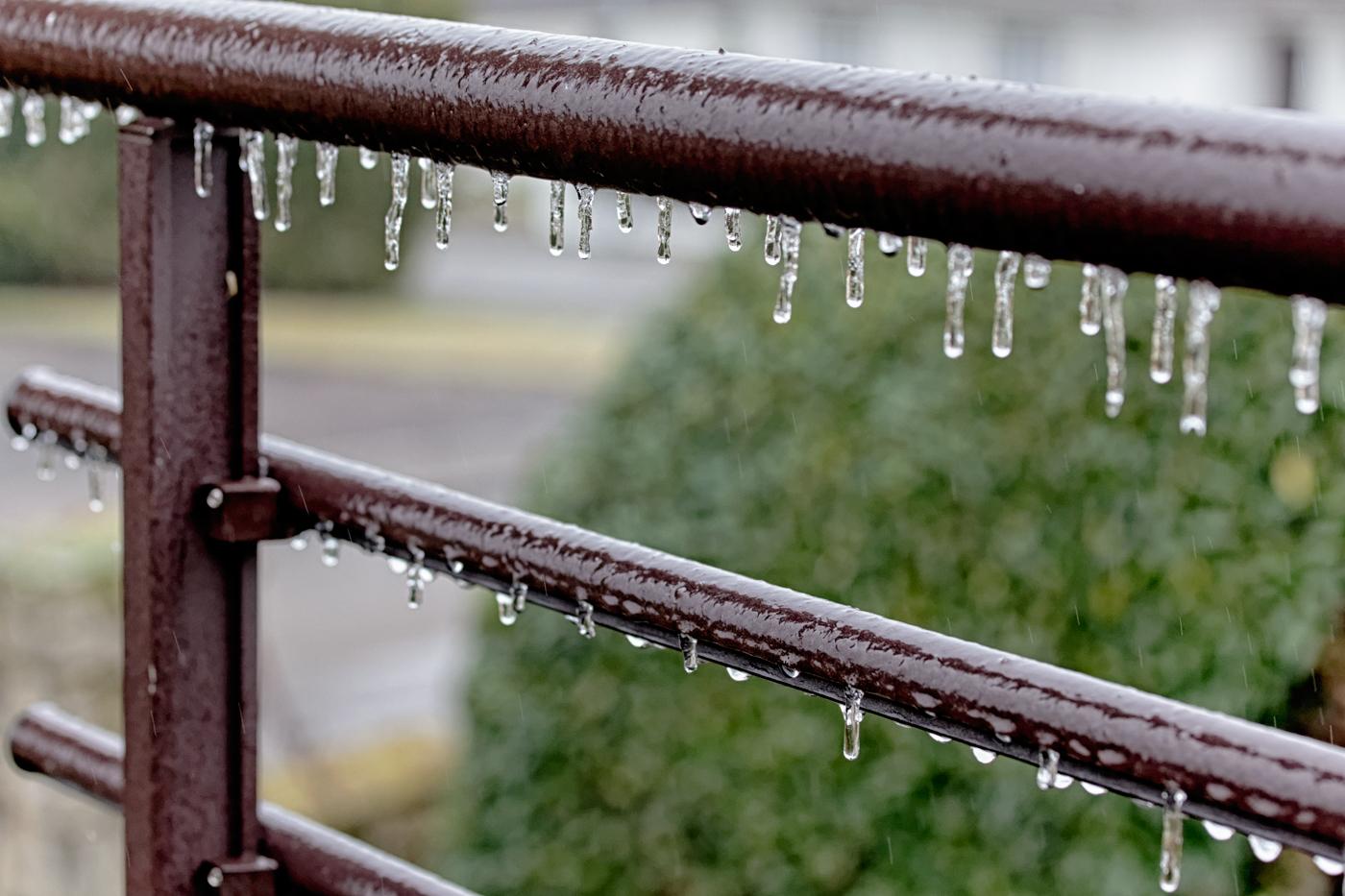 Alerte météo: La pluie verglaçante est toujours prévue
