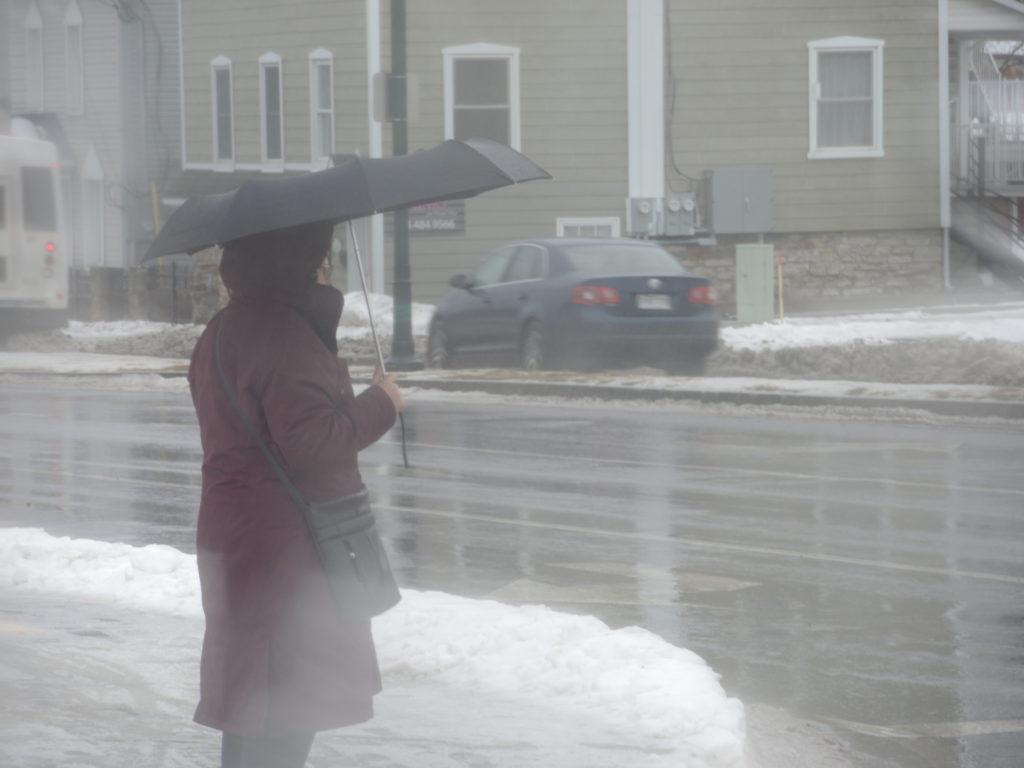 (Mise à jour) Alerte météo : Pas de transport cet après-midi