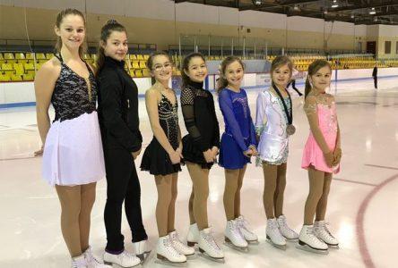 De belles performances pour le club de patinage artistique de Clermont
