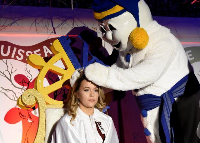 Carnaval de L'Isle-aux-Coudres: Emma Pedneault est couronnée