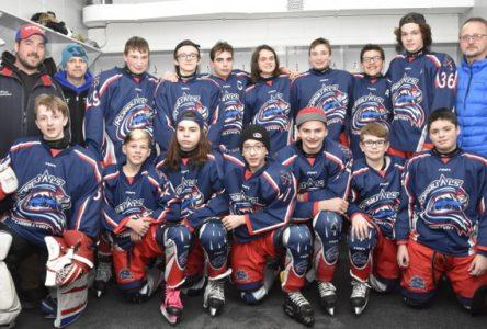 Une belle fin de semaine pour nos jeunes hockeyeurs