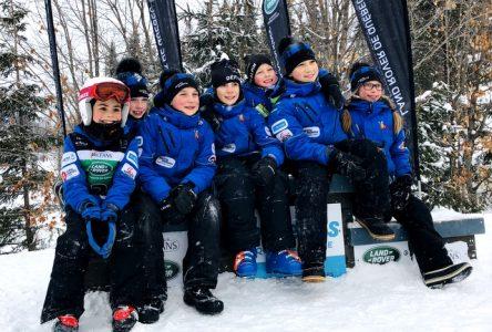 Le club de ski du Mont Grand-Fonds nous fait honneur au Lac-Beauport