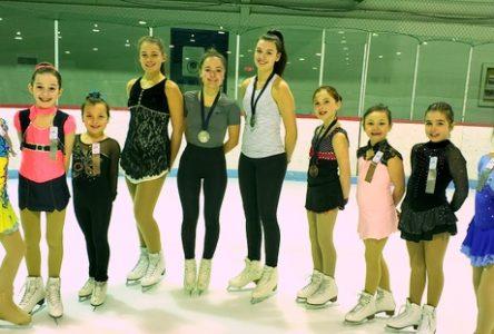 Quatre médailles pour le Club de patinage artistique de Baie-Saint-Paul