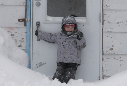 Tempête de neige : on déblaie, on ramasse, on s'amuse, !