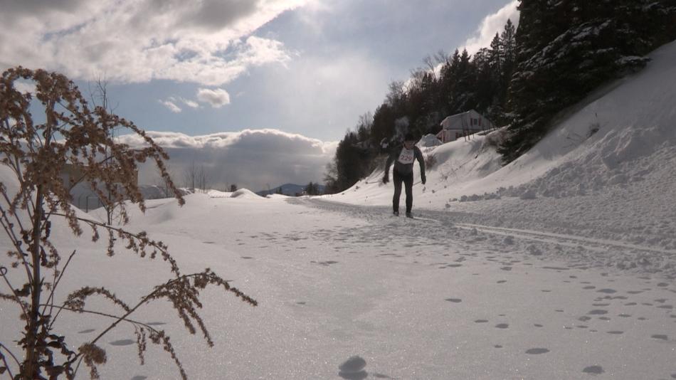 La Virée nordique de Charlevoix : les premiers skieurs déferlent sur Pointe-au-Pic