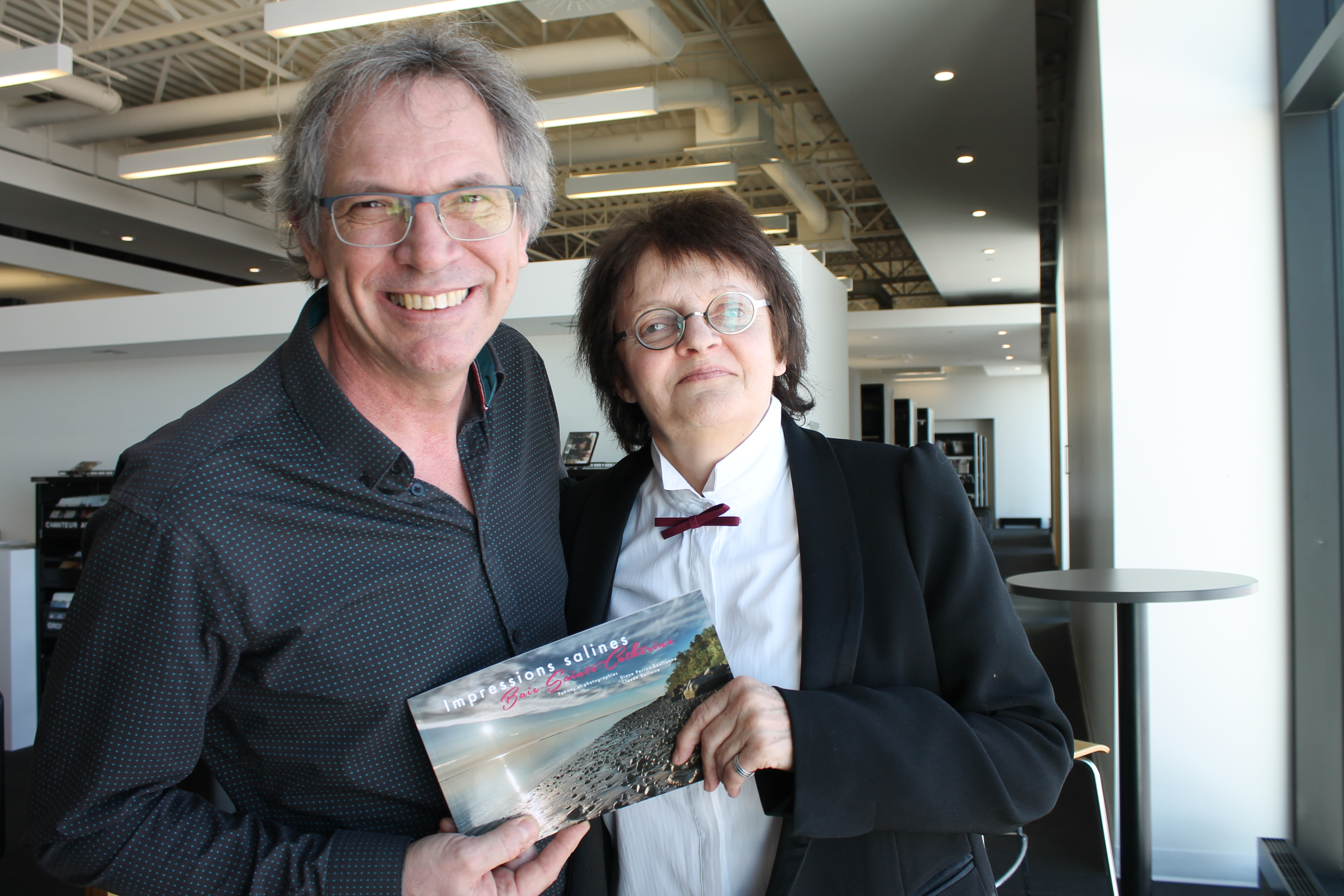 Un «livre d'amour» pour Baie-Sainte-Catherine