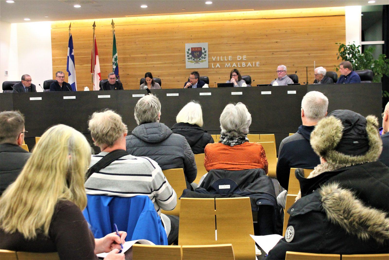Jacques Tremblay vote contre le règlement d'emprunt du Havre