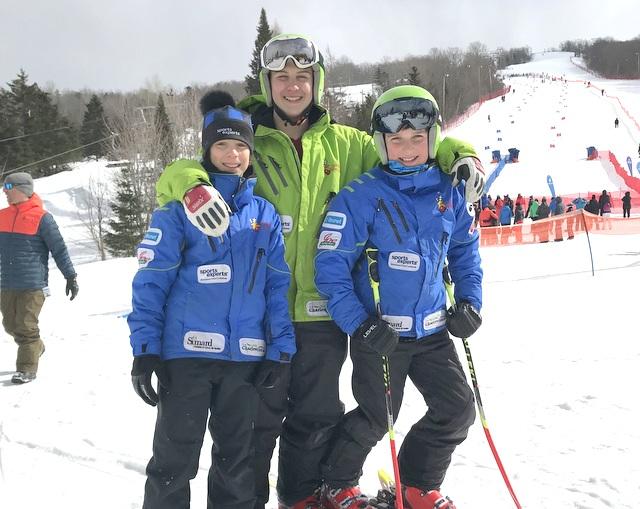 Belles performances des athlètes du Mont Grand-Fonds au Lac-Beauport