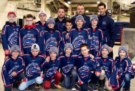 Hockey mineur: bon début de séries éliminatoires pour Charlevoix