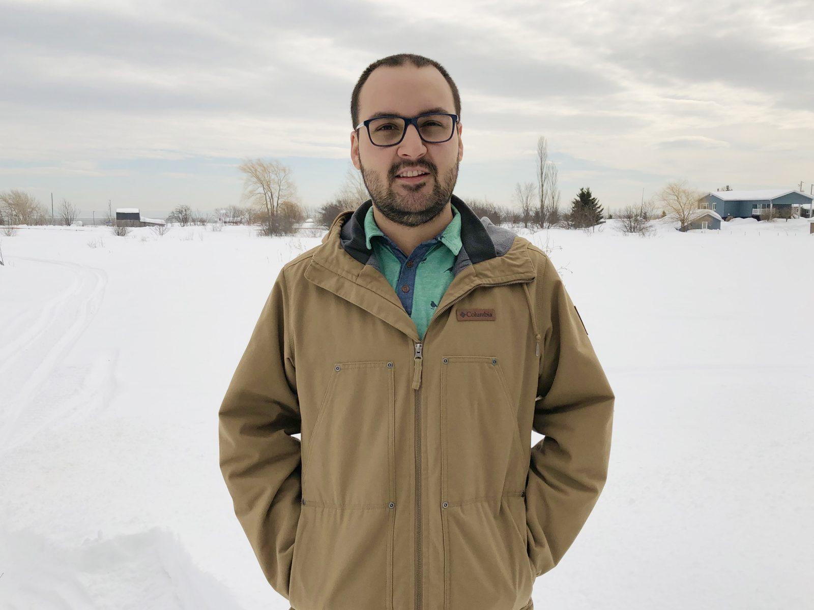 Alexandre Tremblay est le nouvel agent de développement touristique des Éboulements et Saint-Irénée