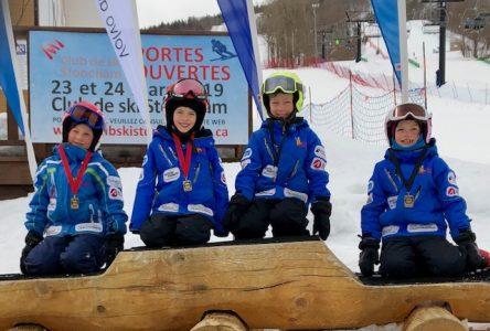 Les athlètes du Club de ski MGF terminent la saison en beauté