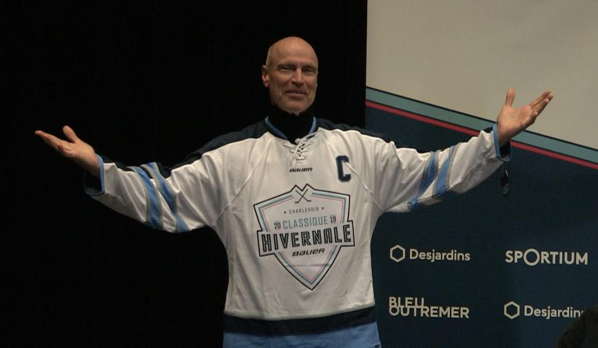 La légende Mark Messier de passage dans Charlevoix (entrevue vidéo)