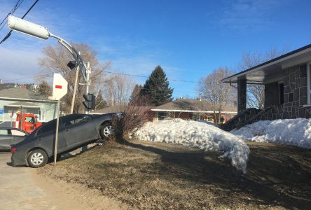Collision entre deux voitures à Clermont