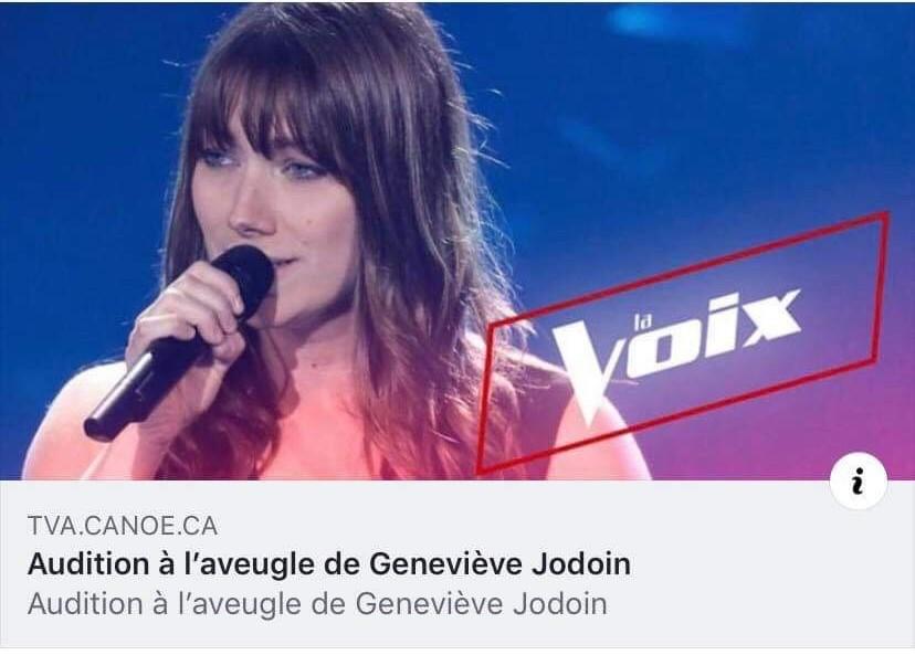 Geneviève Jodoin rejoint l'équipe de Lara Fabian à La Voix