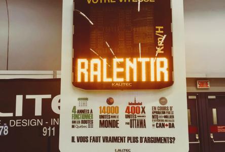 Saint-Siméonobtiendra une amende pour un panneau radar illégal