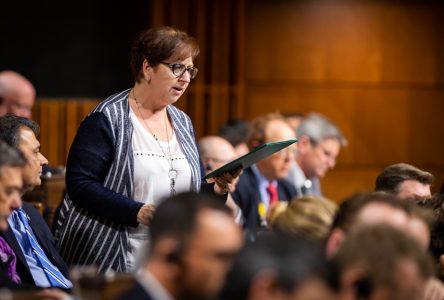 Budget fédéral: « Noël en mars», s'insurge Sylvie Boucher