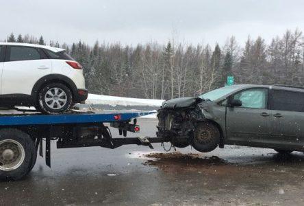 Quatre blessés dans une collision à La Malbaie