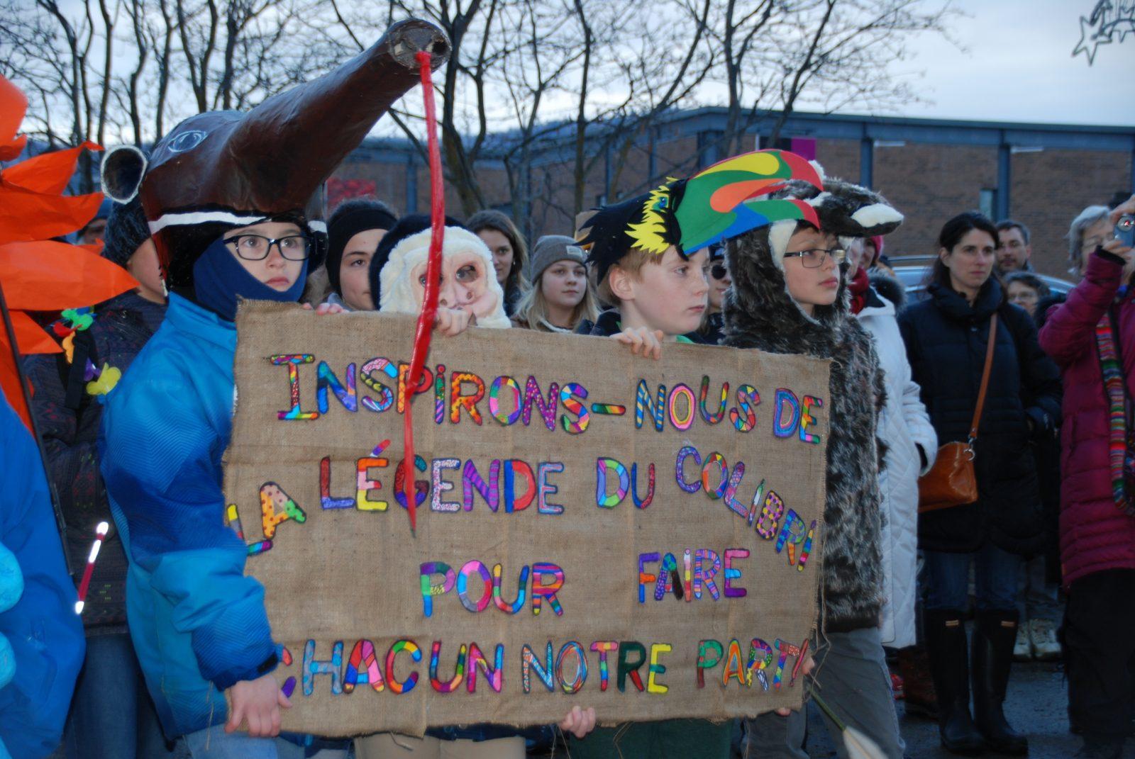 150 personnes se mobilisent pour le climat à Baie-Saint-Paul