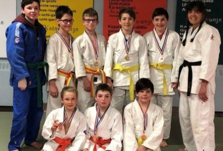 Nos judokas performent à Jonquière