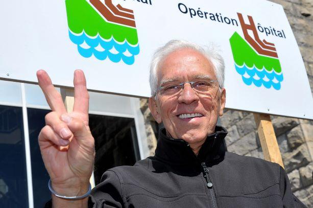 L'ex-conseiller municipal Jacques Tremblay s'impliquera pour l'Hôpital de La Malbaie
