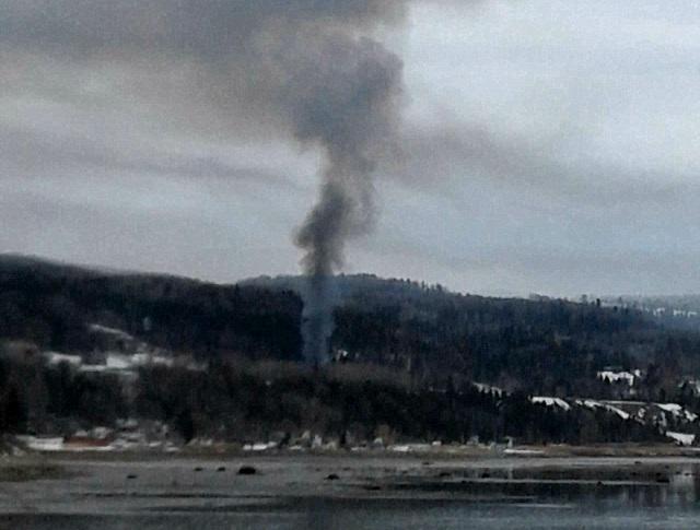 Incendie à Saint-Joseph-de-la-Rive