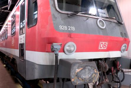 Le nouveau train est arrivé ! Accès privilégié à l'atelier (vidéo)