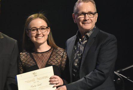 Marilyn Audet reçoit la médaille académique du Gouverneur général