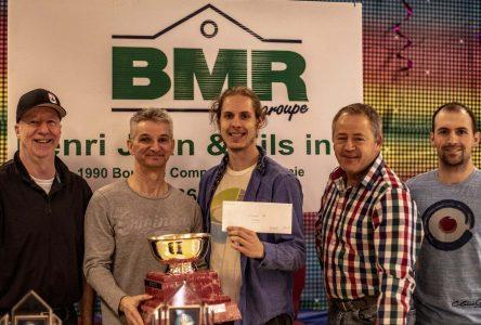 C'était la compétition Charlevoix Invitation BMR Henri Jean & fils 2019 au club de curling Nairn de Clermont en fin de semaine.