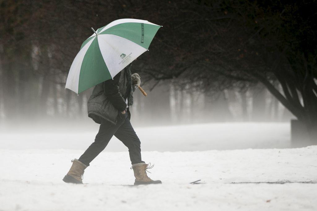 Alerte météo: jusqu'à 15 cm de neige avec de la pluie verglaçante