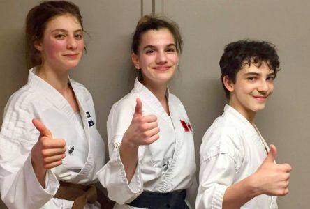 Lucia Gauvin remporte l'or au Championnat canadien junior de karaté