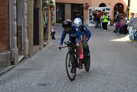 Annie Bouchard, 6ième aujourd'hui en Italie