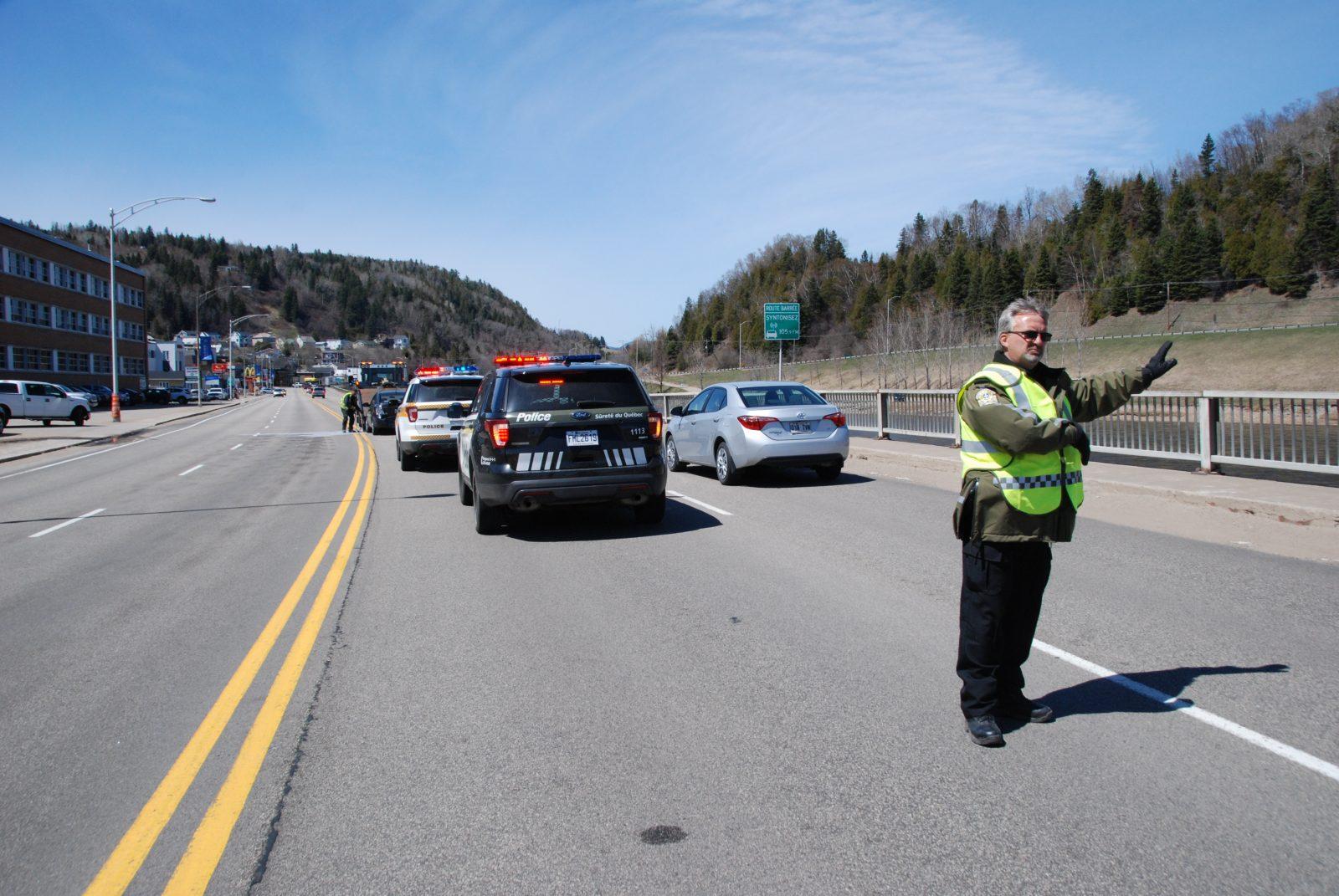 Un accident implique trois véhicules à La Malbaie