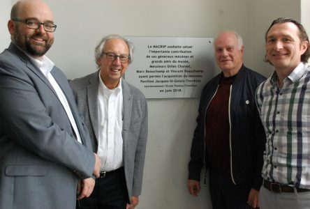 Le mécènat a permis l'acquisition de l'École Thomas-Tremblay
