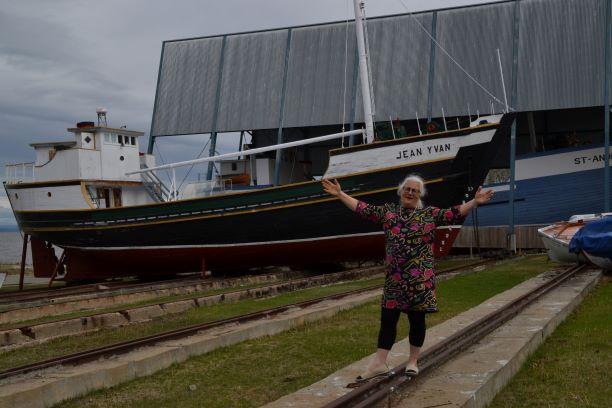 Louis Caron aux Journées de la Culture du Musée maritime de Charlevoix