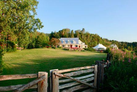Une soirée d'été «cultivée» dans Charlevoix