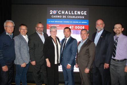 Curling : le Challenge Casino de Charlevoix fêtera ses 20 ans