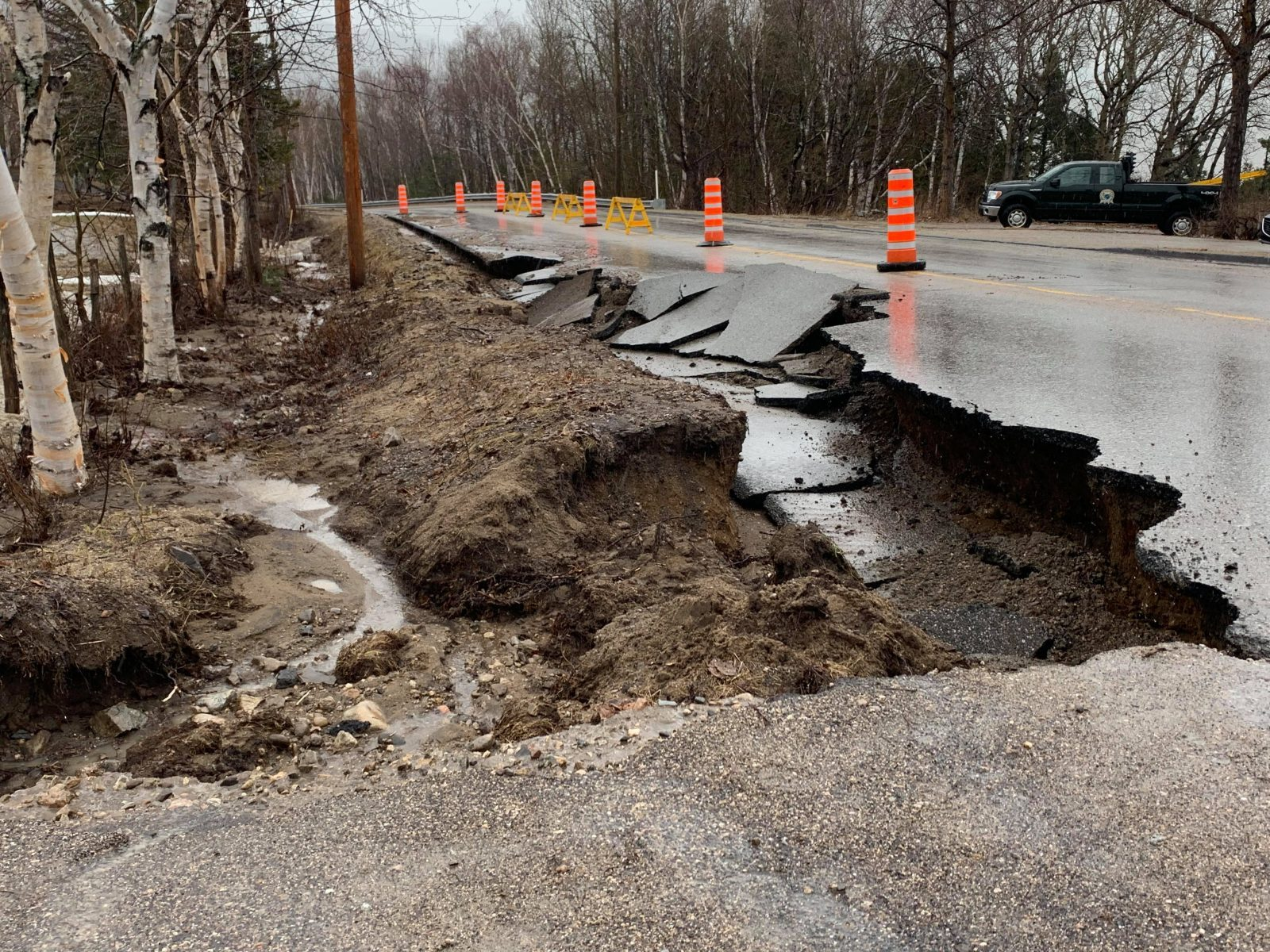 Pluies diluviennes : 13 000 $ de dommages à Saint-Irénée