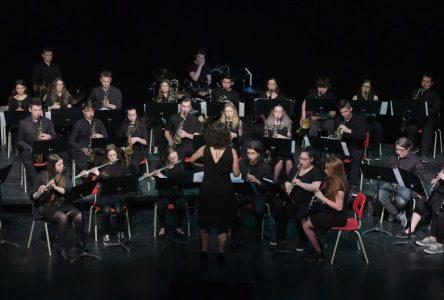 L'Harmonie de l'École secondaire du Plateau se couvre de lauriers